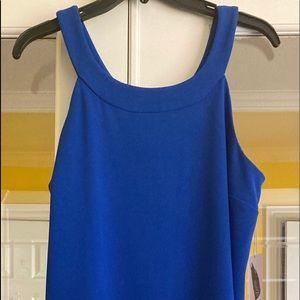 Women's Short Blue Dress